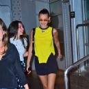 Bella Hadid – Leaving Pier59 Studios in NYC