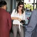 Cindy Crawford At LAX