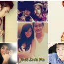 Agnes Monica and Choi Siwon