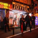 Kim and Kourtney Kardashian – Visiting the red light district and a sushi restaurant in Tokyo