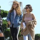 Selena Gomez in Crop Top and Jeans out in Malibu