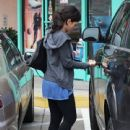 Jenna Dewan leaving the gym in West Hollywood, California after her workout on December 17th, 2012