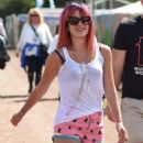 Lily Allen At 2014 Glastonbury Festival