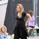 Jessica Alba and Cash Warren watching Haven's soccer game in Westwood  (September 17, 2017) - 454 x 681