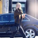 Emma Roberts in Tight Jeans – Out in Beverly Hills - 454 x 681