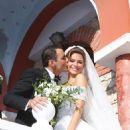 Keven Undergaro and Maria Menounos- Traditional Greek Weding 06/10/2018 - 454 x 681