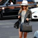 Ashley Tisdale Out About In Beverly Hills