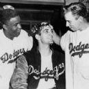 Jackie Robinson, Ralph Branca & Pee Wee Reese