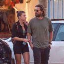 Sofia Richie and Scott Disick – Out in Malibu