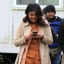 Priyanka Chopra on the 'Quantico' set in Red Hook NYC - 454 x 751