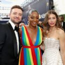 Justin Timberlake and Jessica Biel : 70th Emmy Awards - 454 x 454