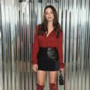 Crystal Reed – Longchamp Fashion Show in NYC - 454 x 682