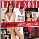 Yesim Salkim, Paris Hilton, Sharon Stone, Burak Hakki - Haftasonu Magazine Cover [Turkey] (12 December 2007)