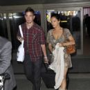 Kelly Brook With Danny Cipriani In L.A., 26 May 2010