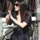 Roselyn Sanchez - At the Urth Cafe on West Hollywood March 4, 2011