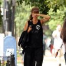 Gisele Bundchen: stepped out for a walk in downtown Boston