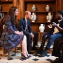 The Duke and Duchess of Cambridge Visit Paris: Day Two - 454 x 303