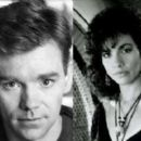 David Caruso and Rachel Ticotin
