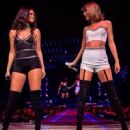 Selena Gomez on Stage for Her BFF inal L.A. Performance at the Staple Center August 27,2015