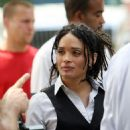 "Lisa Bonet - Set Of ""Life On Mars"" In NYC, 2008-08-06"
