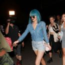 Kylie Jenner Out To Dinner In Hollywood