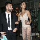 Irina Shayk – Leaving Annabels After The British Vogue and Tiffany Co Party in London