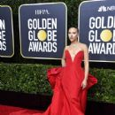 Scarlett Johansson  wears Vera Wang Dress : 77th Annual Golden Globe Awards