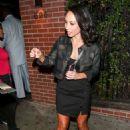 Cheryl Burke – Outside the Abbey Nightclub in West Hollywood - 454 x 636