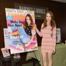 Troian Bellisario attends the Seventeen Magazine February issue unveiling at Barnes & Noble 82nd Street on January 7, 2014 in New York City