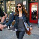 Jessica Biel - Leaving Bubby's Restaurant, 5 May 2010