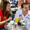 Jacques Villeneuve and Johanna Martinez