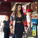 Kat Graham: hit up her local newsstand in Los Angeles