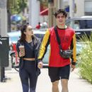 Camila Mendes and Charles Melton – Out in LA 06/05/2019 - 454 x 641