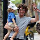 Andrea Nicolas with dad