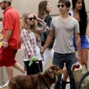 Amanda Seyfried and Justin Long out with Finn in New York City (September 9)