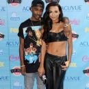 Big Sean and Actress Naya Rivera attends the Teen Choice Awards 2013 at Gibson Amphitheatre on August 11, 2013 in Universal City, California