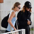 Lily-Rose Depp – Arriving at the airport during 2019 Venice Film Festival