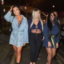 Sophie Kasaei, Holly Hagan and Abbie Holborn – Night out in Newcastle - 454 x 559