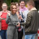 Stephanie Davis at Lime Pictures Studios in Liverpool