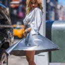 Rita Ora – Wearing a silver Nina Ricci dress in New York City - 454 x 681