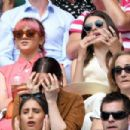 Maisie Williams and Diana Silvers – Wimbledon Tennis Championships 2019 in London - 454 x 303