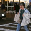 Sally Field arriving at LAX Airport