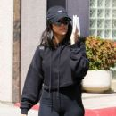 Kourtney Kardashian in Black Outfit – Out in Los Angeles
