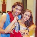Henri Castelli and Juliana Silveira