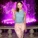 Katharine McPhee Promotes Breast Cancer Awareness At Las The Grove