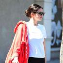 Selena Gomez leaving a gym in LA