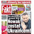 Malgorzata Kozuchowska - Fakt Magazine Cover [Poland] (26 October 2016)