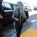Blac Chyna at LAX Airport in Los Angeles, California - September 2, 2017 - 454 x 633