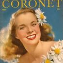 Mona Freeman - Coronet Magazine Cover [United States] (May 1944)