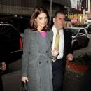 Ashley Greene arriving at the 'Today Show' (November 15)